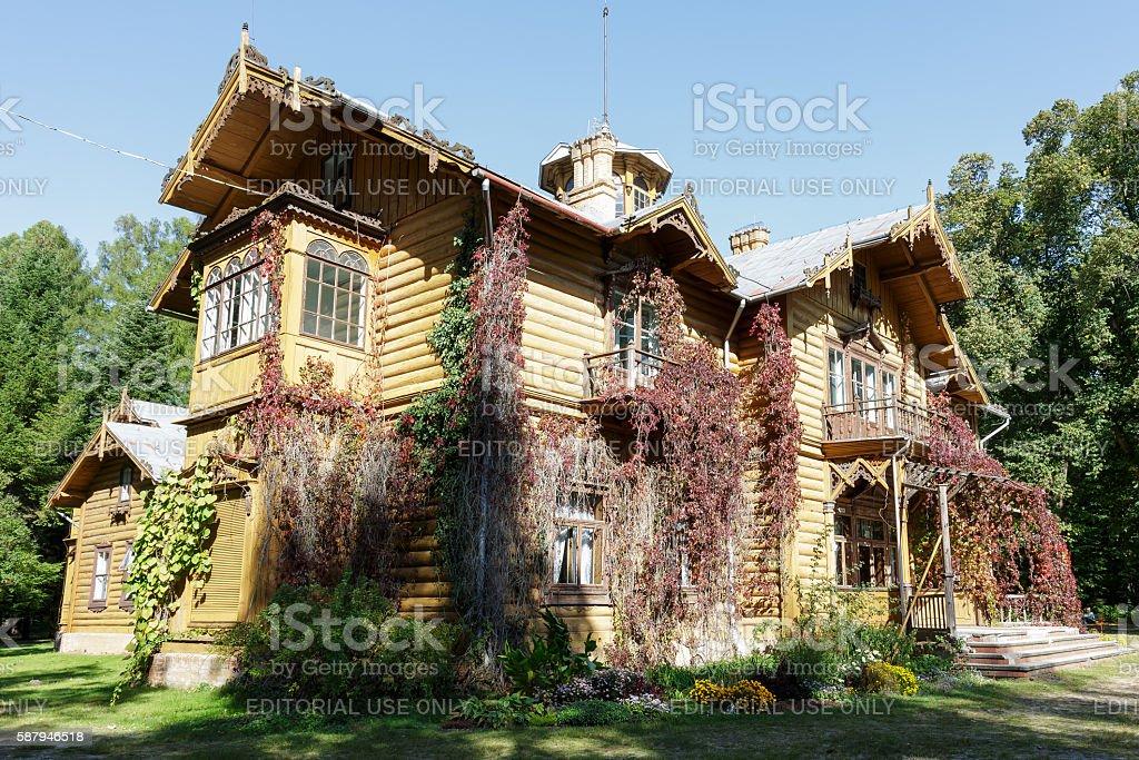 Julin, hunting palace stock photo