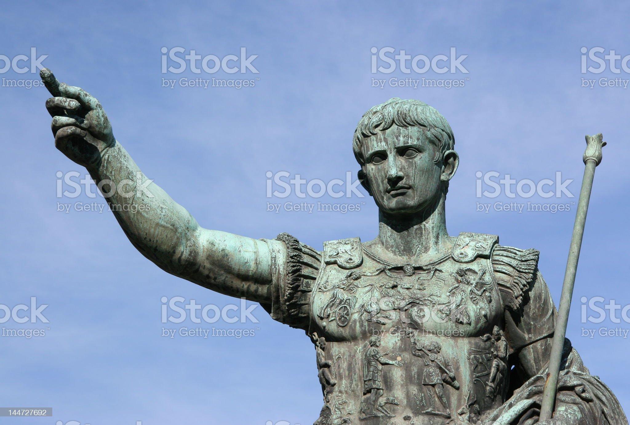 Julius Caesar royalty-free stock photo