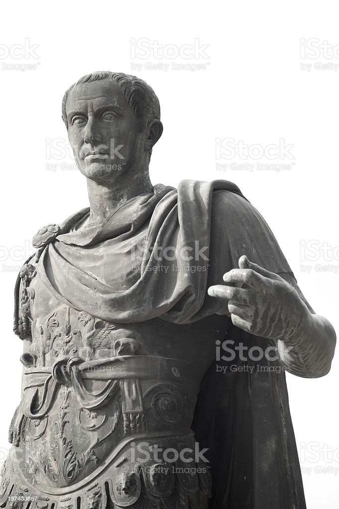 Julius Caesar stock photo