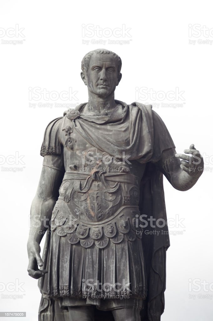 Julius Caesar - The Roman Emperor stock photo