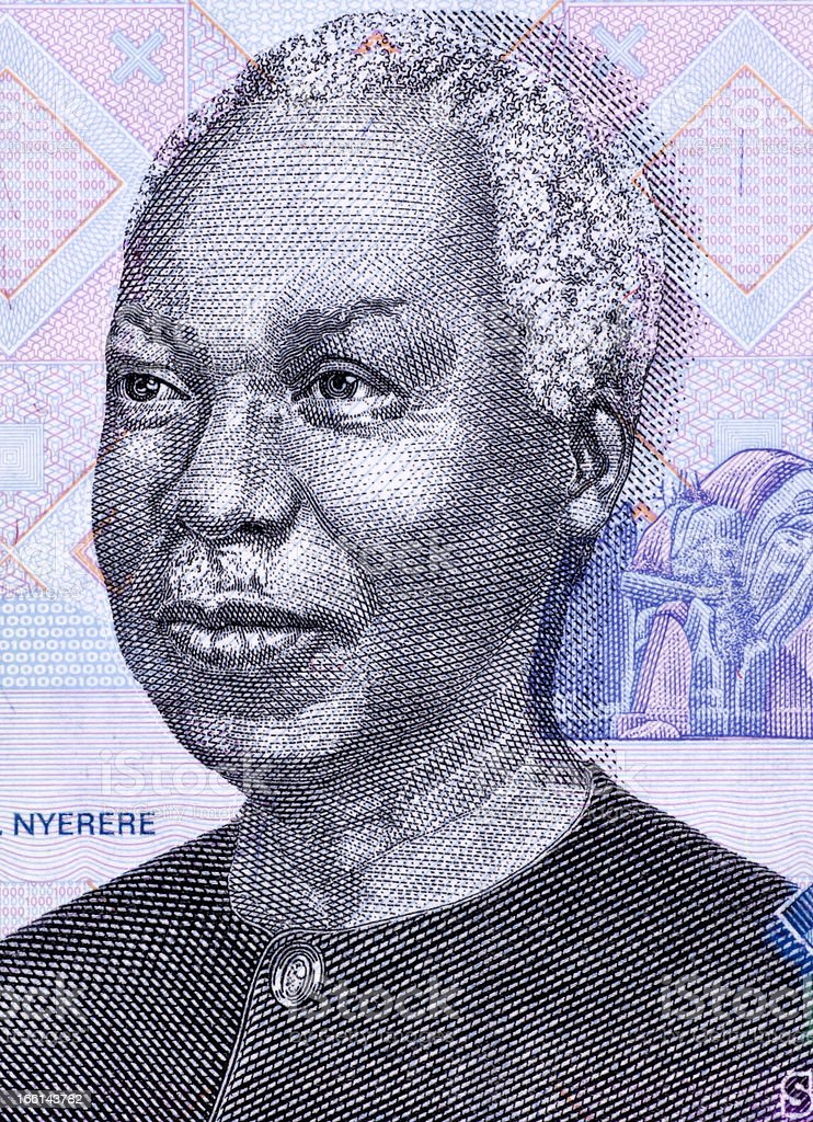 Julius Nyerere royalty-free stock photo