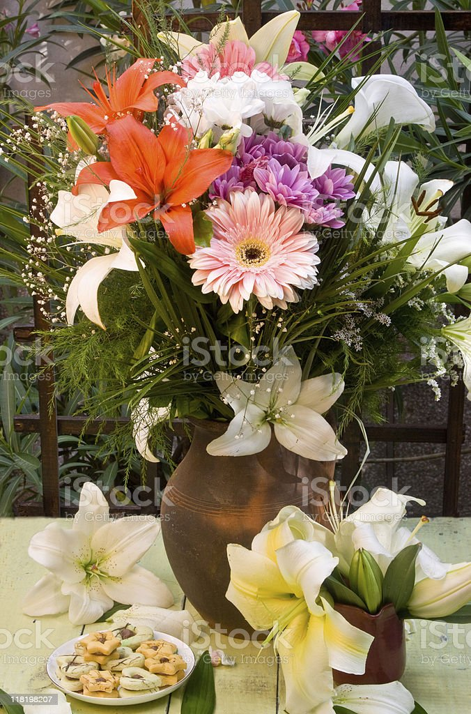 July Bouquet royalty-free stock photo