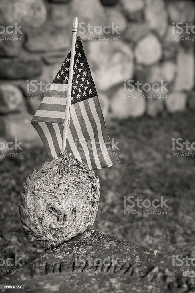 July Fourth Recognition stock photo