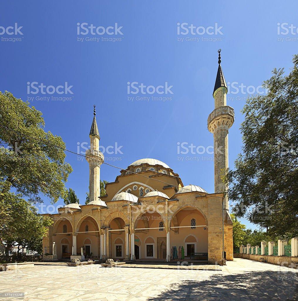 Juma-Jami Mosque stock photo
