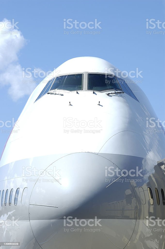 jumbo jet 2 royalty-free stock photo