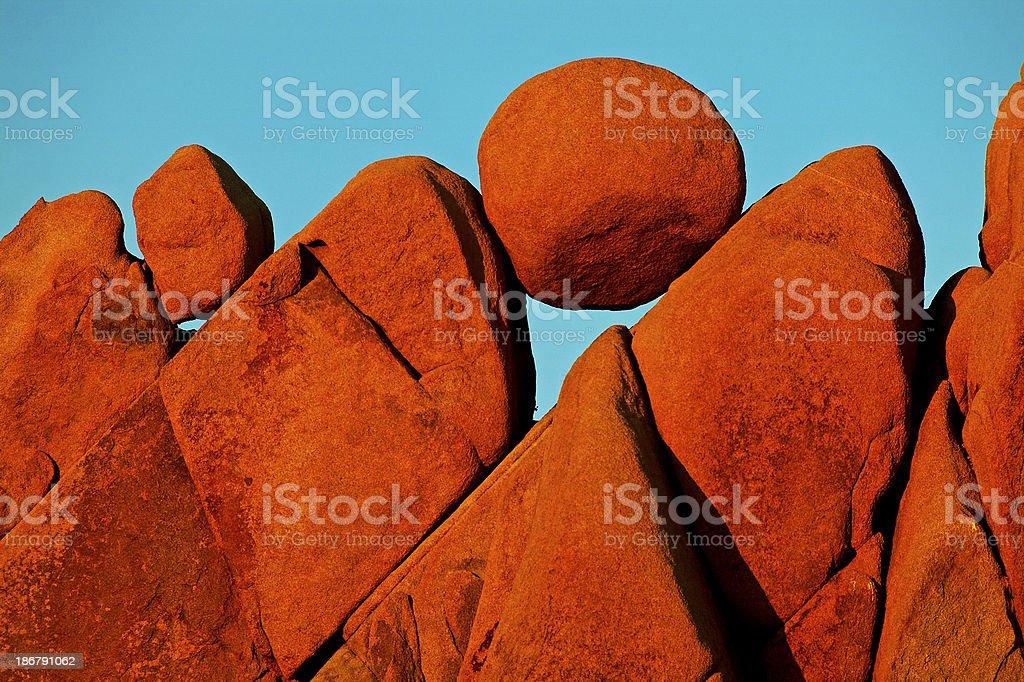 Jumbo Rocks stock photo