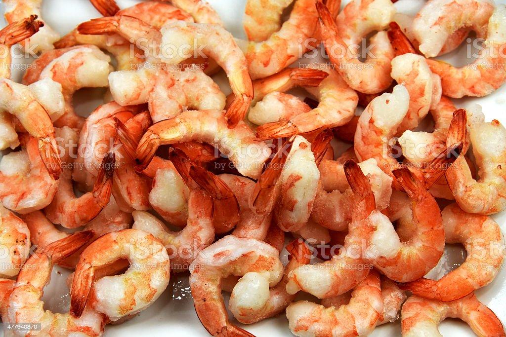 Jumbo Shrimp Close-up royalty-free stock photo