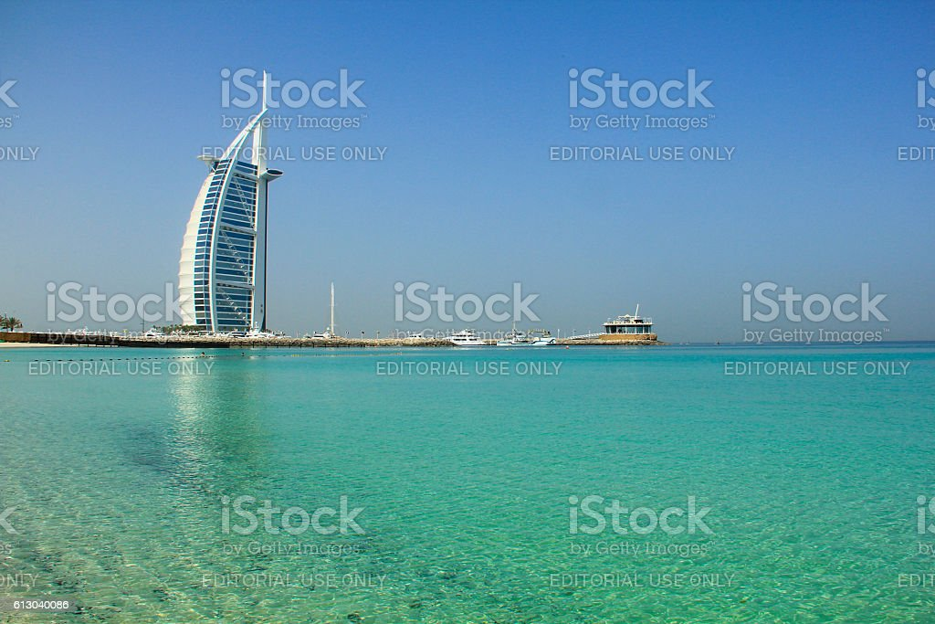 Jumeirah Beach, Dubai stock photo