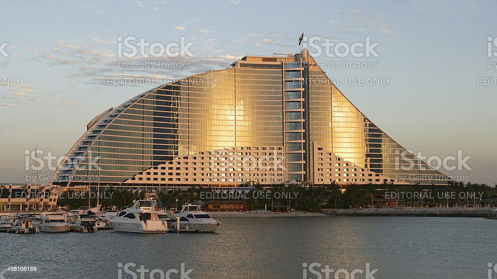 Jumeirah Beach Hotel stock photo
