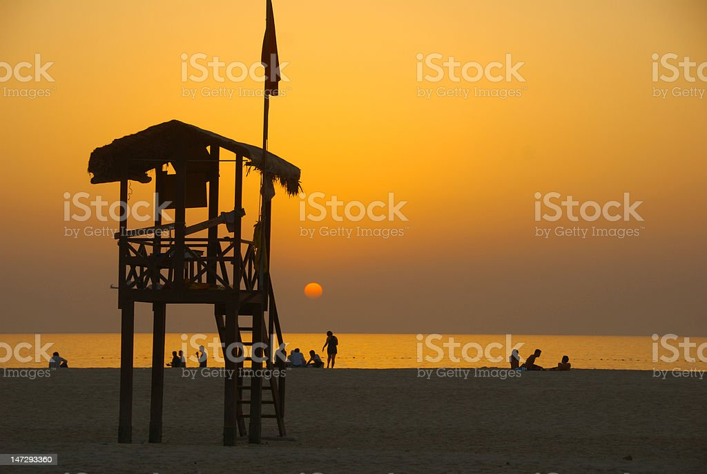 Jumeirah Beach. stock photo