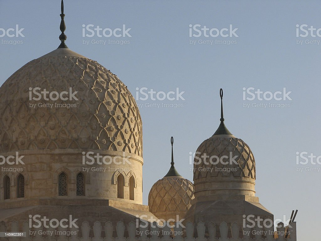 jumeirah mosque dubai stock photo