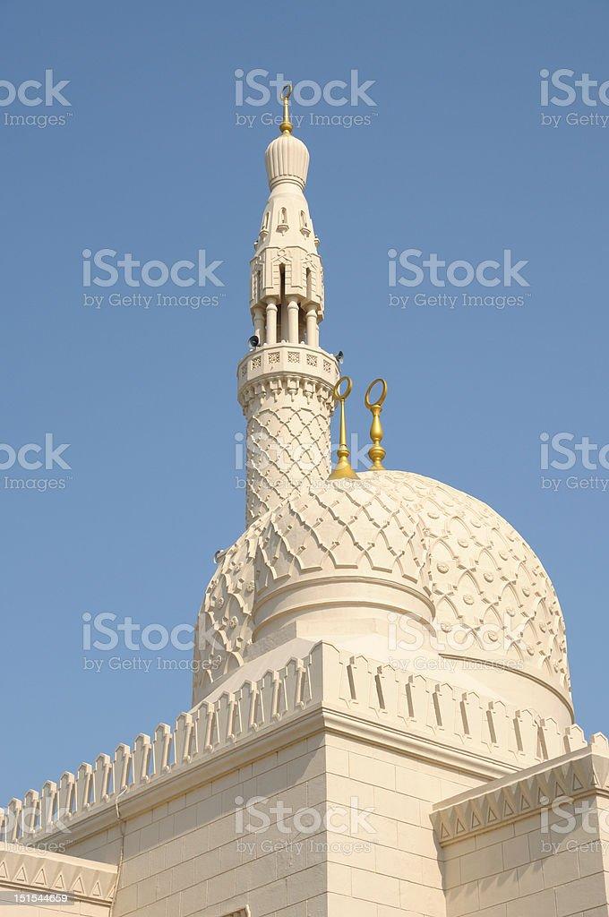 Jumeirah Mosque, Dubai stock photo