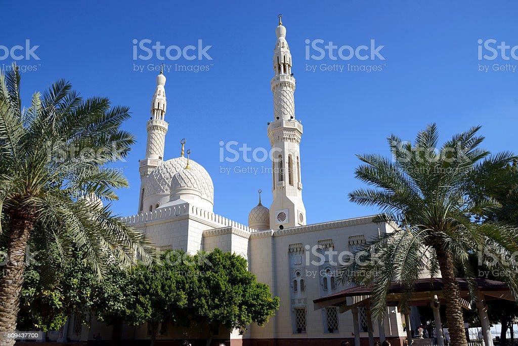 Jumeirah Mosque, Dubai, UAE stock photo