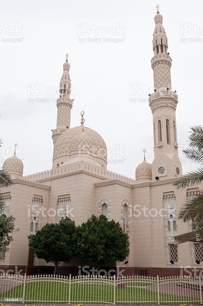 Jumeirah Mosque in Dubai, UAE stock photo