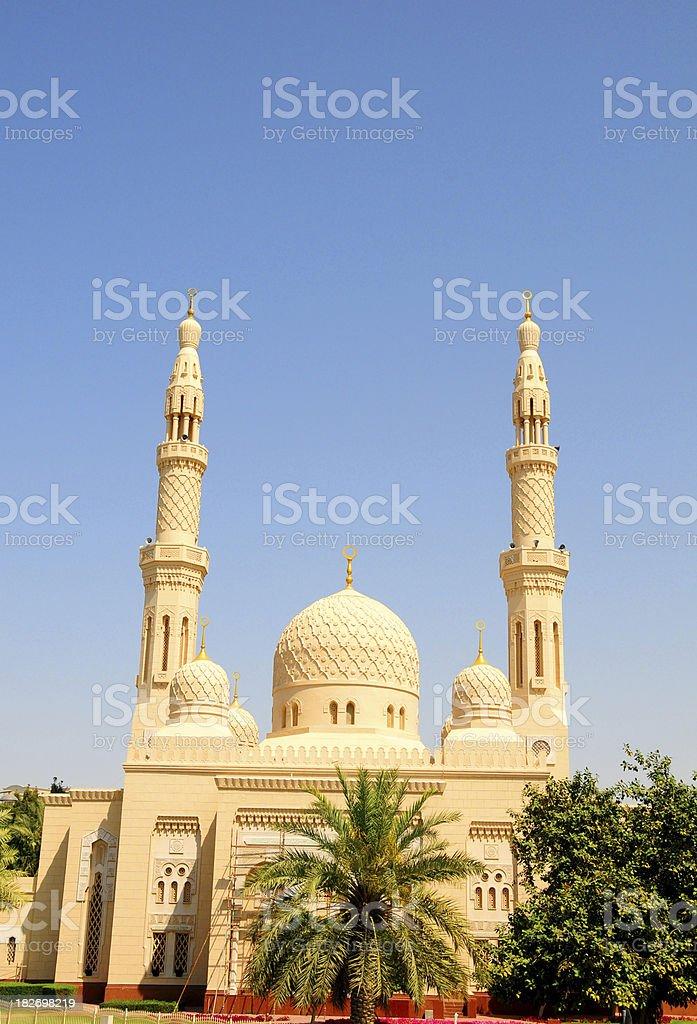 Jumeirah Mosque stock photo