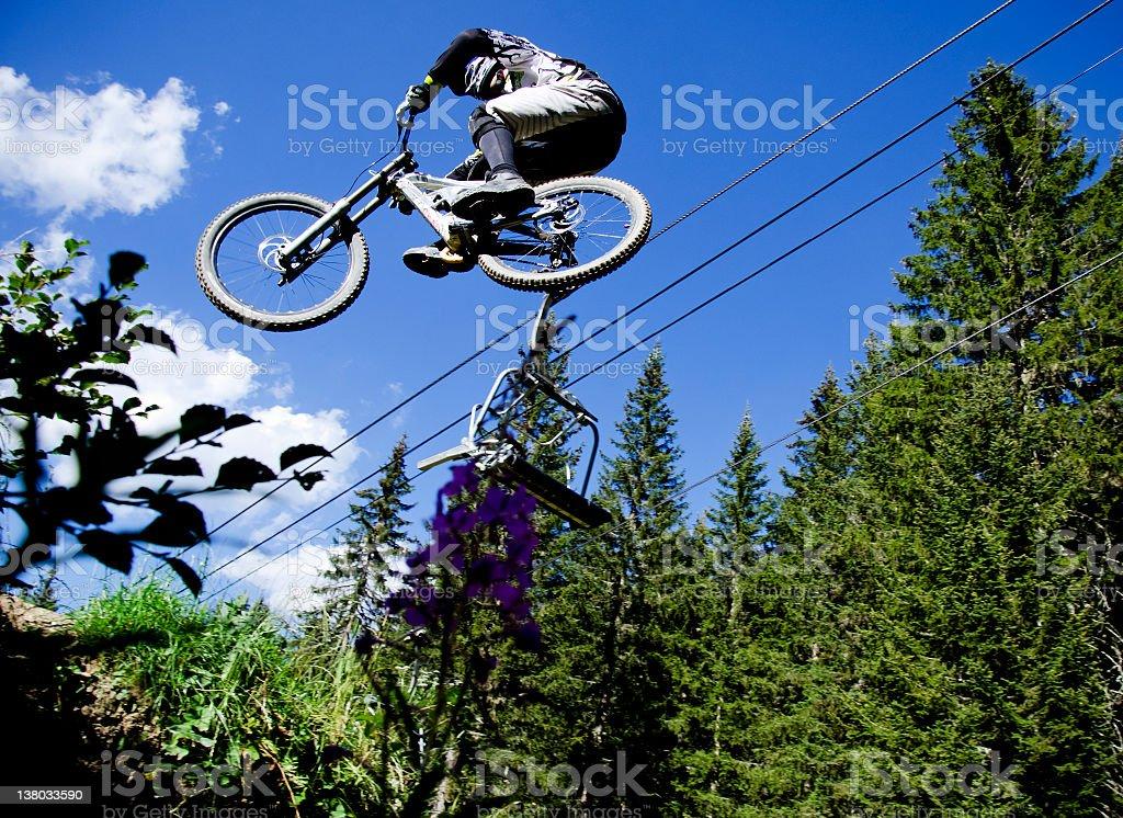 DH Jump royalty-free stock photo