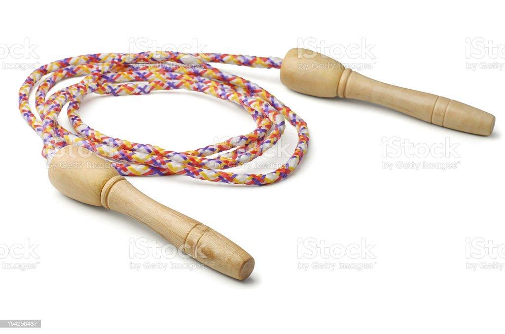 Jump rope royalty-free stock photo