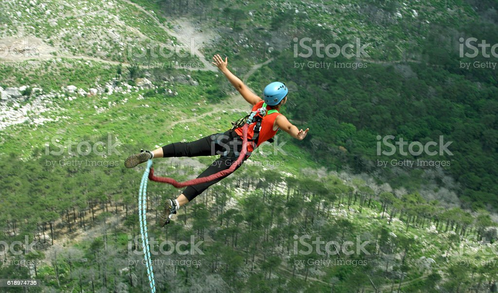 Jump rope. stock photo