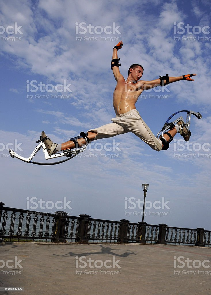 Jumper stock photo