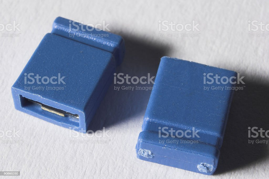Jumper Switches Direction stock photo