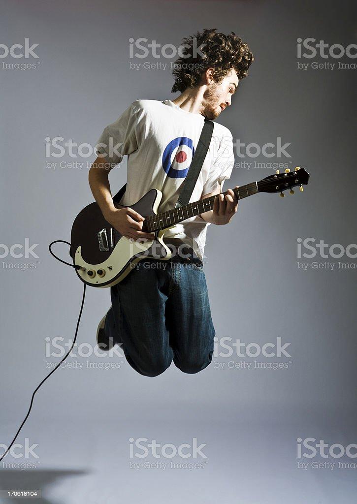 Jumpin' Jack Flash royalty-free stock photo