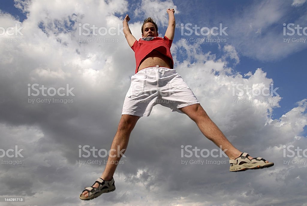 Jumpin' stock photo