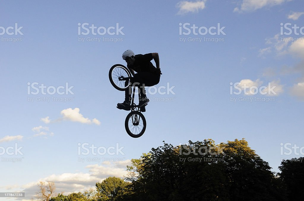 Jumping high royalty-free stock photo