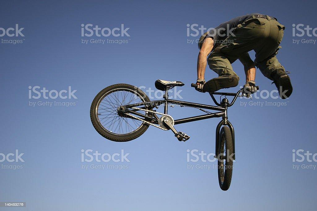 jumping jack flashed stock photo