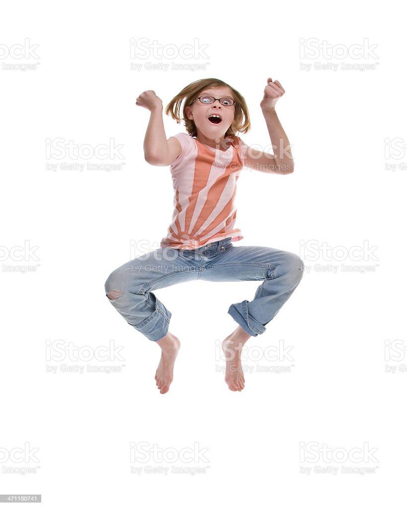 Jumping Lizenzfreies stock-foto