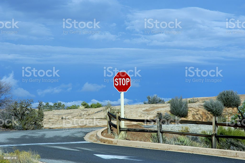 Junction royalty-free stock photo