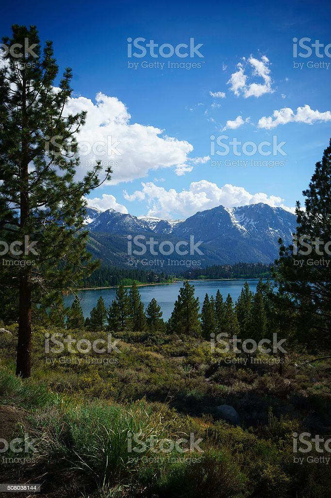 June Lake Loop, California stock photo
