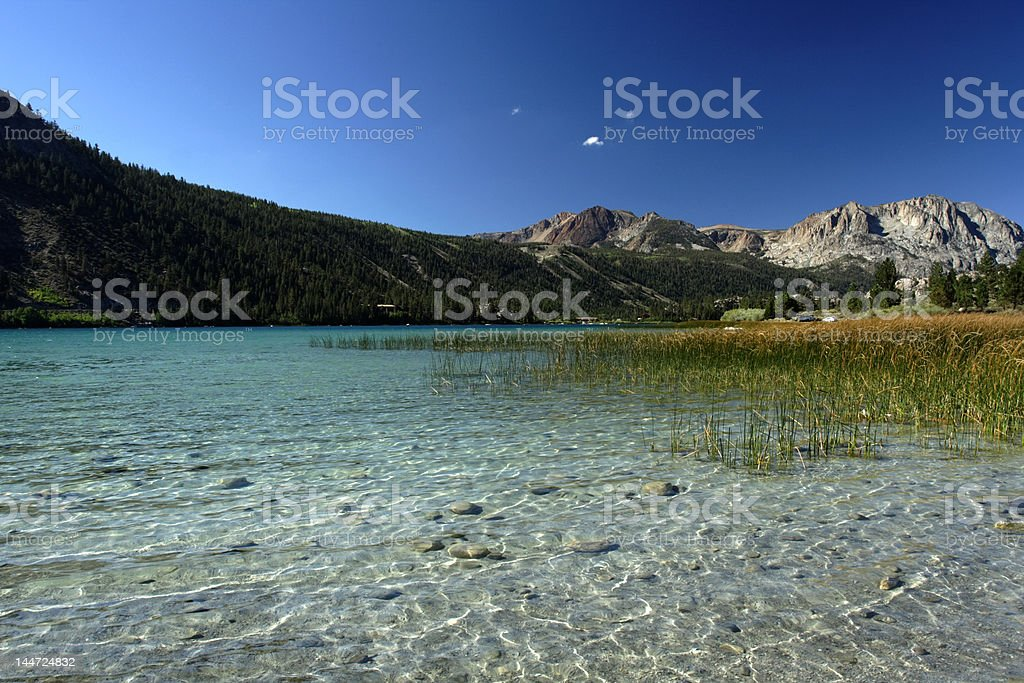 June Lake stock photo