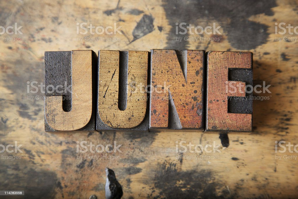 June... royalty-free stock photo