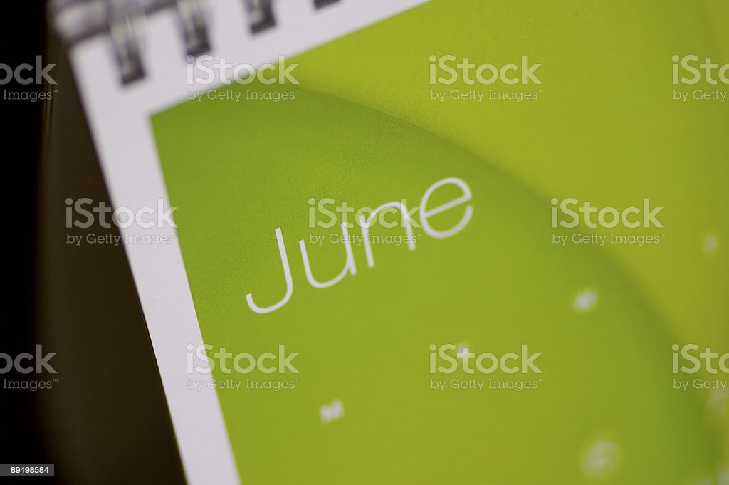 June Up Close... royalty-free stock photo