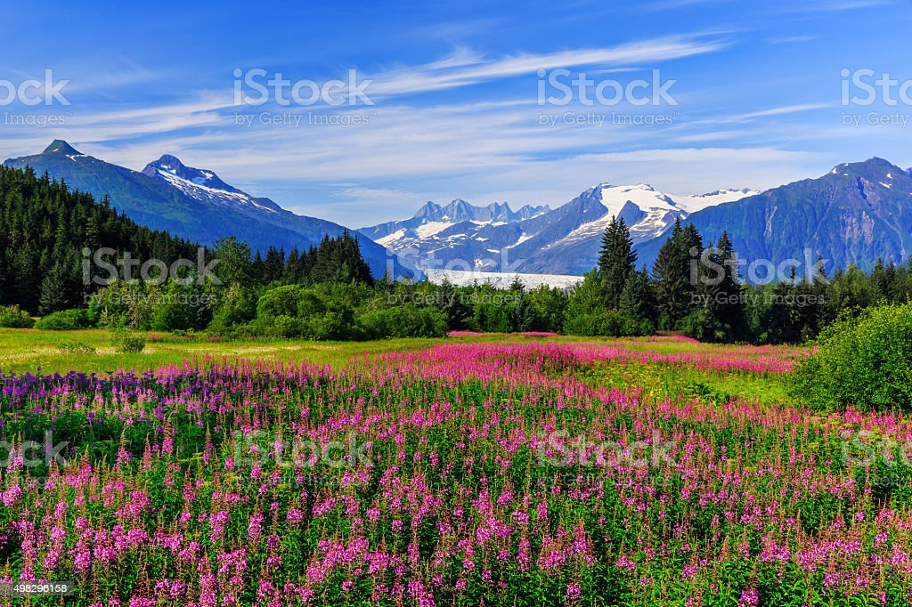 Juneau, Alaska stock photo