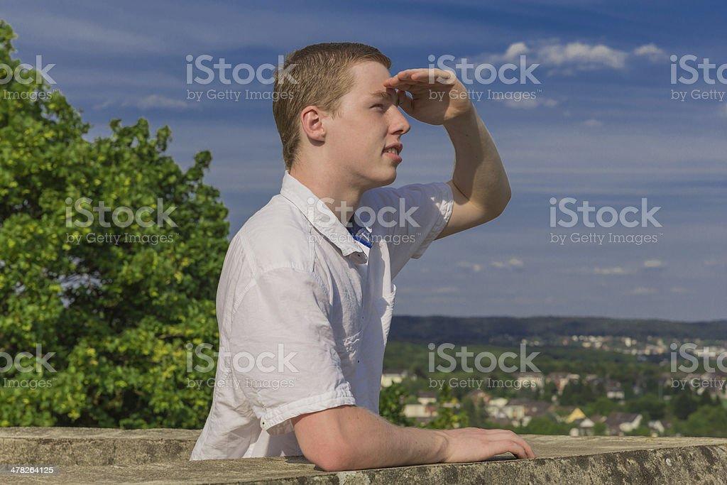 Junger Mann royalty-free stock photo