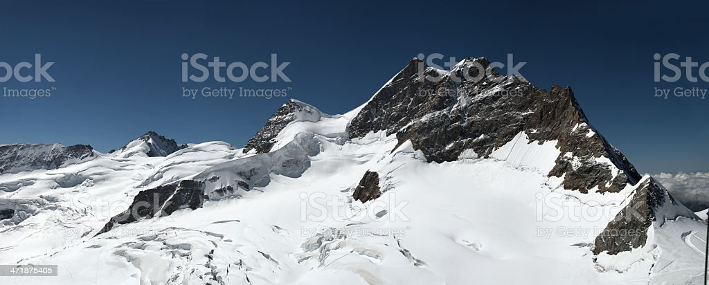 Jungfrau range (Switzerland) royalty-free stock photo