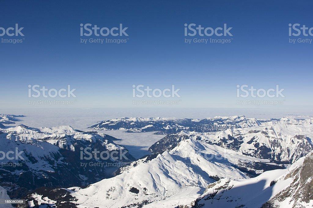 Jungfrau Region royalty-free stock photo