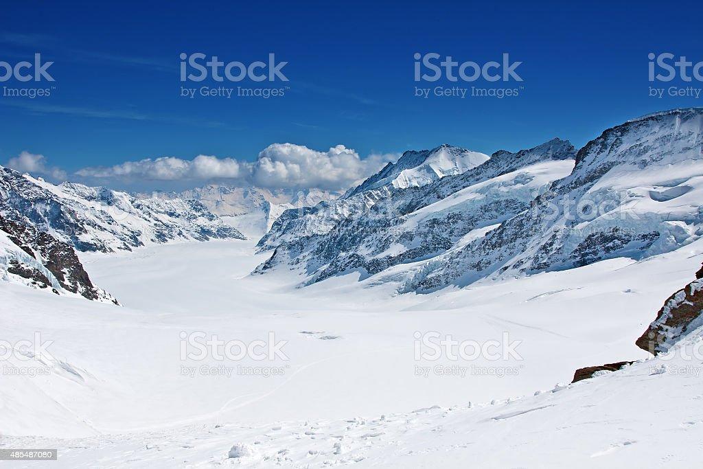 Jungfrau region stock photo