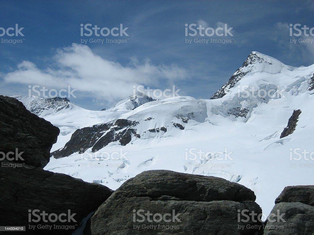 Jungfrau, Switzerland royalty-free stock photo