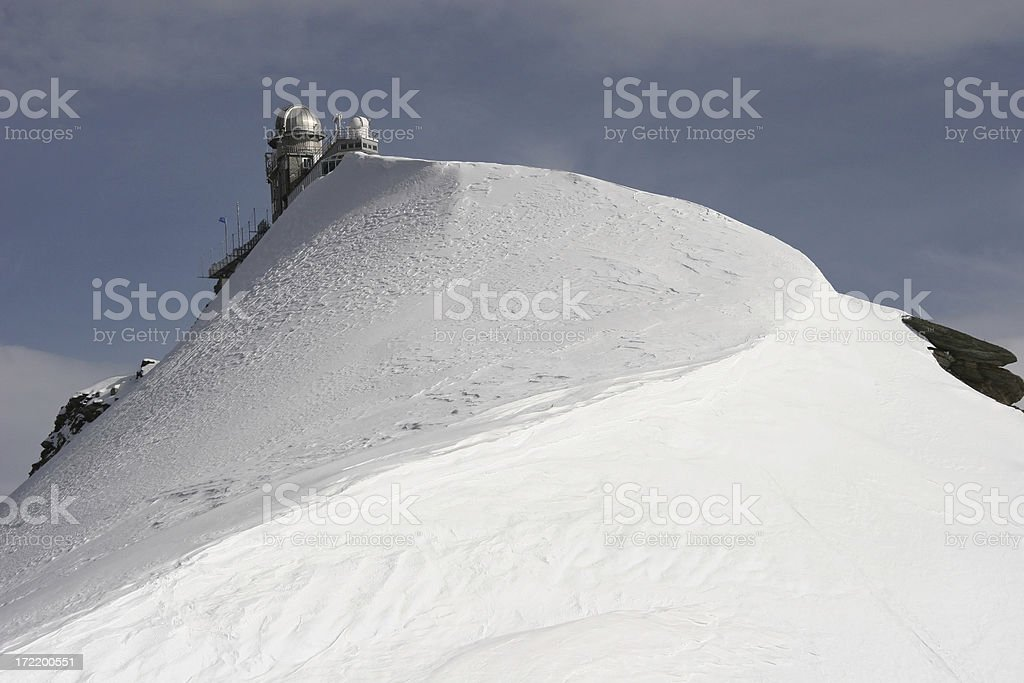 Jungfraujoch royalty-free stock photo