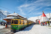 Jungfraujoch Ski Train, Swiss Alps