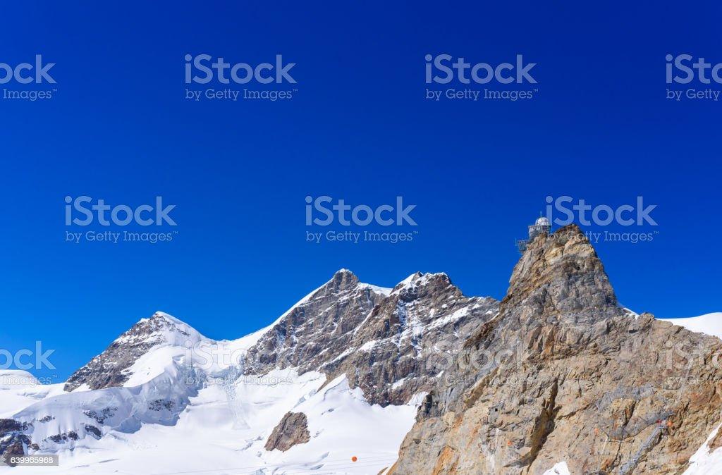 Jungfraujoch - Top of Europe in Switzerland, Europe stock photo