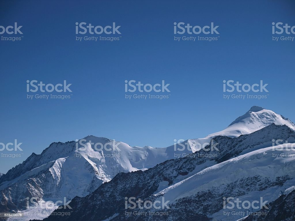Jungfraujoch,Grindelwald/Switzerland stock photo