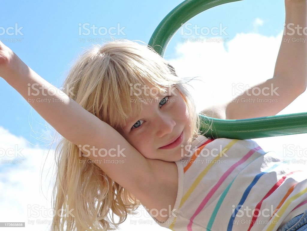 Jungle Gym 4 royalty-free stock photo