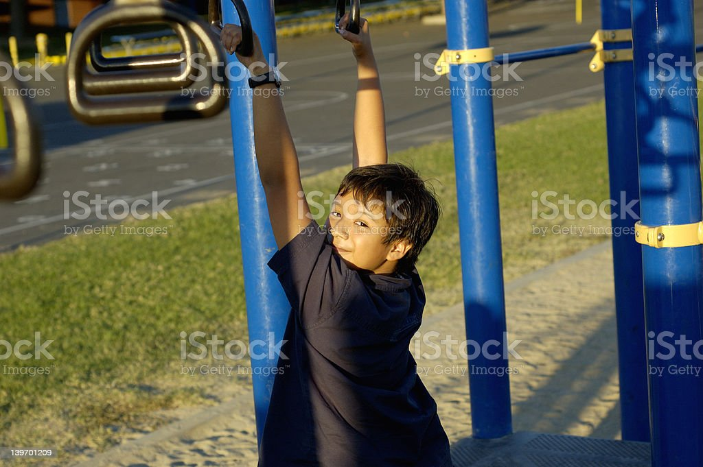 Jungle gym royalty-free stock photo