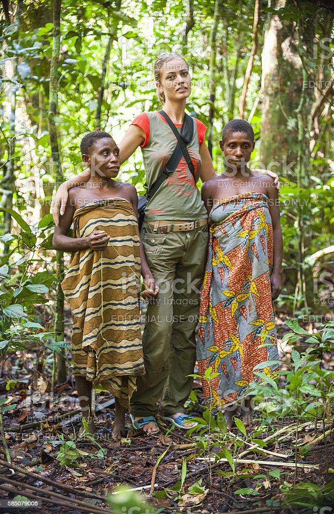 Jungle Portrait stock photo