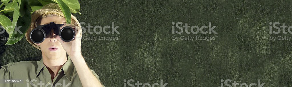Jungle Searching royalty-free stock photo
