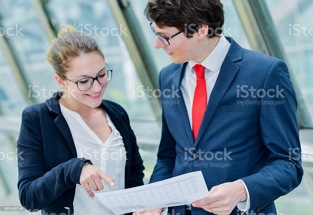 Junior executive dynamics consulting commercial documents royalty-free stock photo