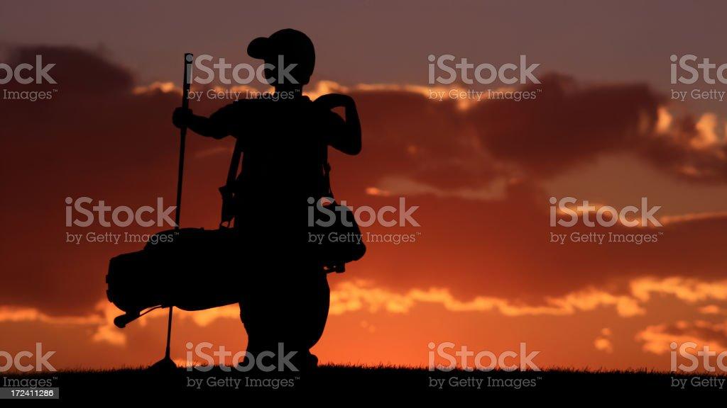 Junior Golf Series royalty-free stock photo